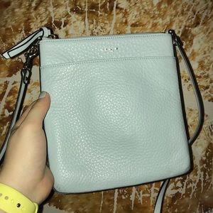Mint Coach Crossbody Bag